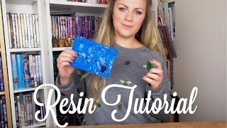 How to use Gedeo Resin Tutorial | Theseglitteryhands