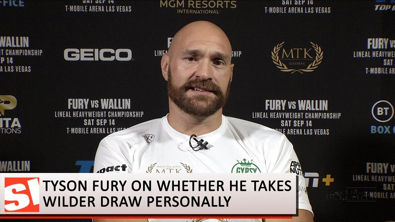 Tyson Fury has only positive things to say about Deontay Wilder