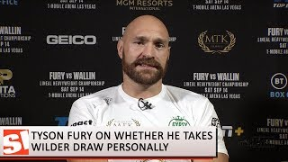 Tyson Fury has only positive things to say about Deontay Wilder | SI Now | Sports Illustrated