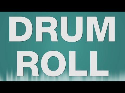 Drum Roll SOUND EFFECT  Trommelwirbel Snare Drum Crash Preisverleihung Sound
