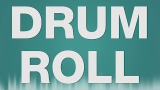 Drum Roll SOUND EFFECT - Trommelwirbel Snare Drum Crash Preisverleihung Sound