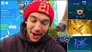 ONE OF MY RAREST SHINY ENCOUNTERS! (Pokémon GO)