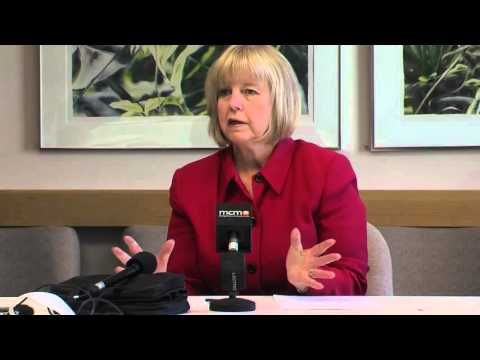 Floreen Discusses Budget Situation, Marijuana, Radon and Other Issues at Briefing