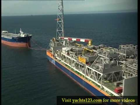 The Asgard A production ship (FPSO) in the Norwegian