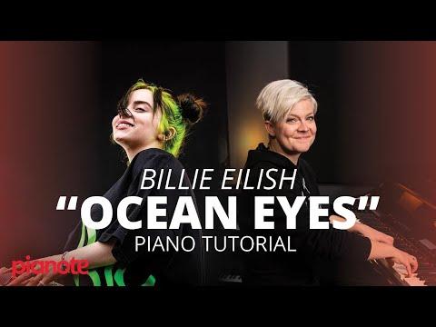 """Ocean Eyes"" Piano Tutorial (Billie Eilish)"