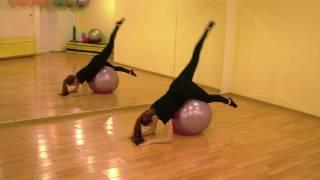 Платес с фитболом/Пилатес с мячом/ Пилатес+стретчинг/Pilates+Stretching