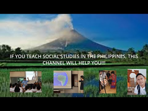 IF YOU TEACH SOCIAL STUDIES IN THE PHILIPPINES, THIS CHANNEL WILL HELP YOU!!!