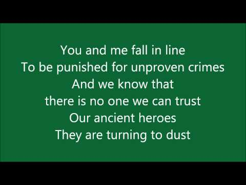 Muse - United States of Eurasia (Lyrics)