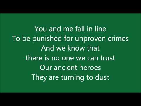 Muse - United States of Eurasia (Lyrics)