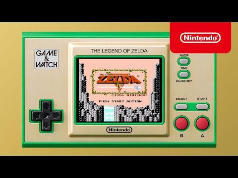 Game & Watch: The Legend of Zelda – ¡Disponible el 12 de noviembre!