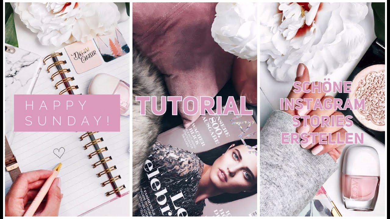 tutorial sch ne instagram stories erstellen tipps f r mehr zuschauer youtube. Black Bedroom Furniture Sets. Home Design Ideas