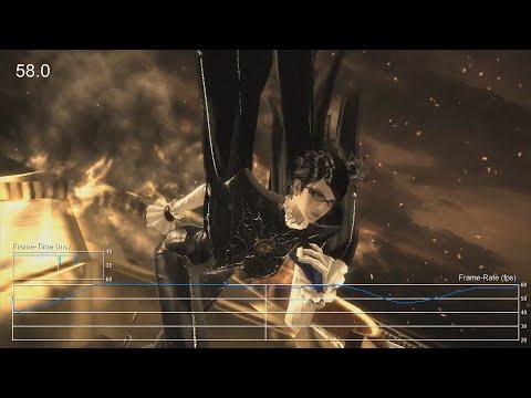 Bayonetta 2 Wii U Frame-Rate Test
