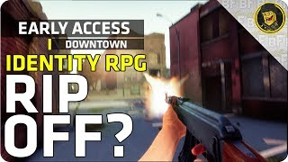 Early Access: Downtown - Identity RPG Rip-Off?