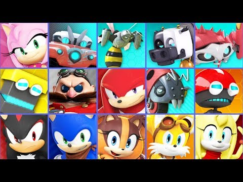 Sonic Dash 2: Sonic Boom - All 6 Characters Unlocked And Fully Upgraded Hack Unlimited Rings Shadow