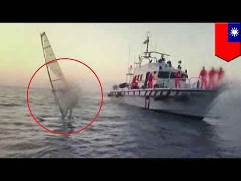 Man tries to windsurf in the dark: Coast Guard demands he return to shore - TomoNews