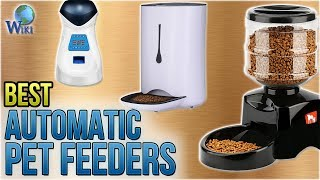 10 Best Automatic Pet Feeders 2018