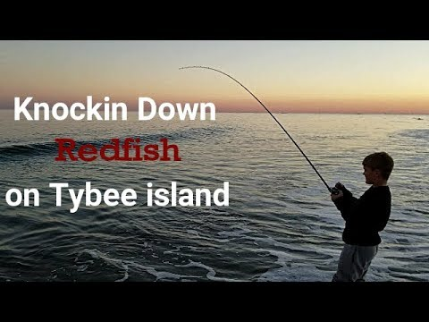 Surf Fishing For Slot Reds: Breys First Redfish