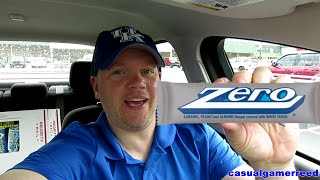 Reed Reviews Zero Candy Bar