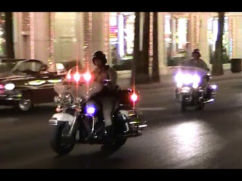 Las Vegas Metropolitan PD 2 motorcycles - traffic work [NV | 7/20/2011]