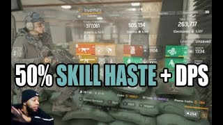 MAX Skill Haste Builds work in 1.8.3 - The Division (FULL BUILD GUIDE)