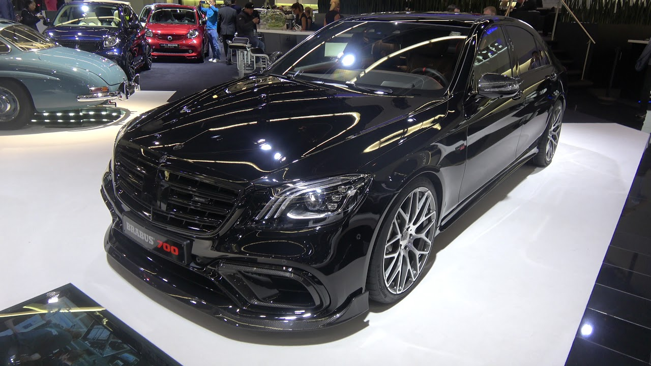 brabus 700 facelift mercedes s63 w222 in black with brabus