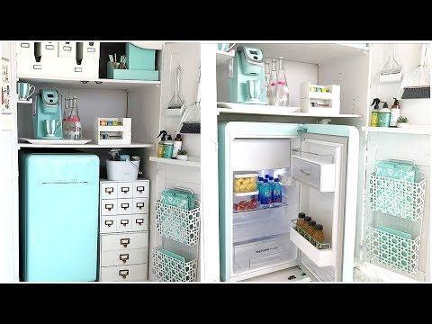 NEW! Office Organization   How To Create A Kitchenette For Your Home Office