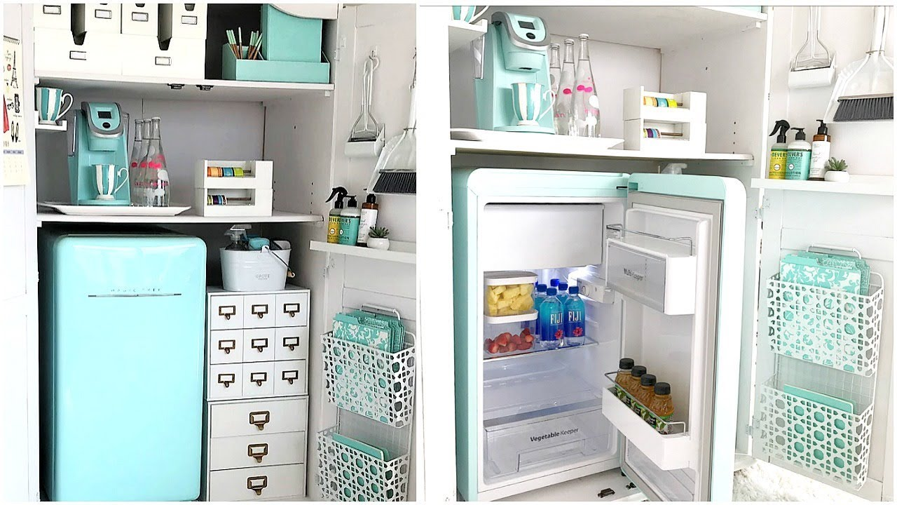 Office Organization | How To Create A Kitchenette For Your Home ...