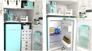 Office Organization |  How To Create A Kitchenette For Your Home Office
