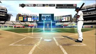 MLB 2K10 (Xbox 360) Demo Gameplay Part Two: Yankees vs. Phillies