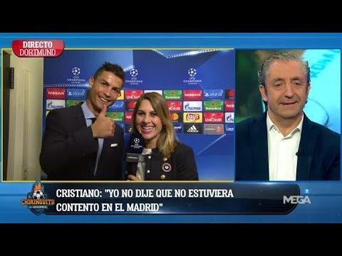Entrevista en EXCLUSIVA con Cristiano Ronaldo en 'El Chiringuito' tras la VICTORIA en Dortmund