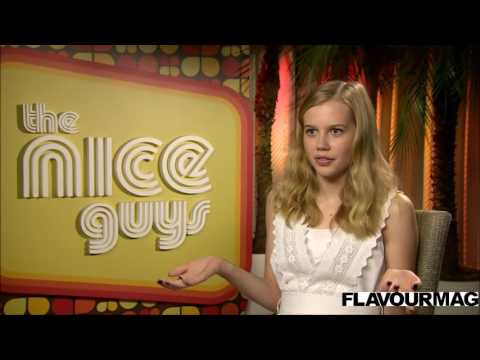 The Nice Guys Interview with Angourie Rice