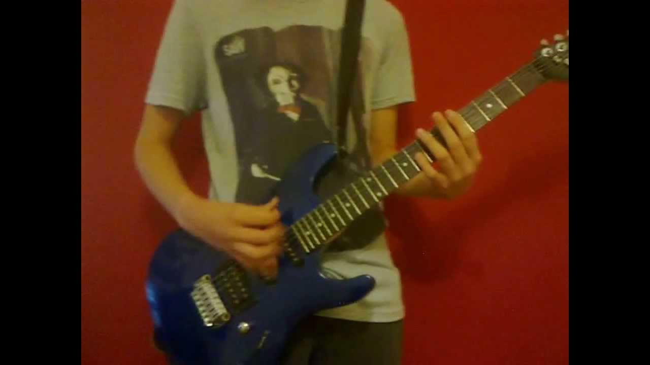 This means war- Avenged Sevenfold - Full Song Guitar Cover