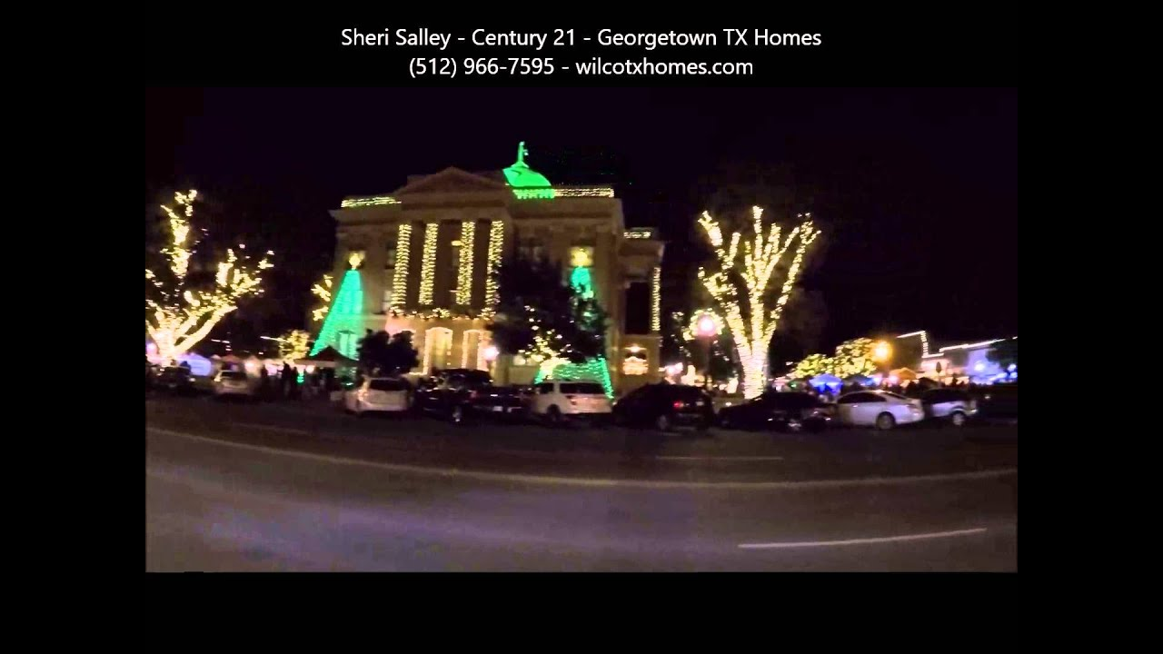 35th Georgetown TX Christmas Stroll Fri 12 4 2015 Video - YouTube