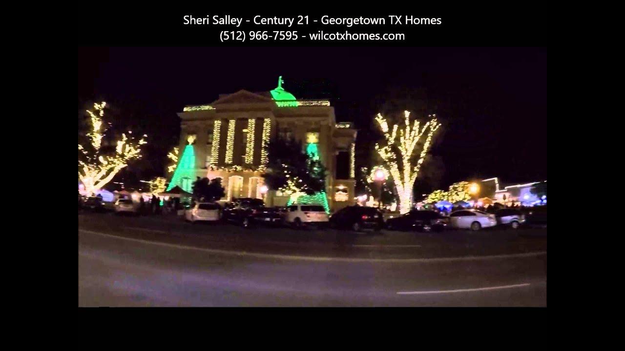 35th Georgetown TX Christmas Stroll Fri 12 4 2015 Video
