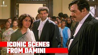 Damini   Iconic Scenes   Sunny Deol, Meenakshi Sheshadri, Amrish Puri