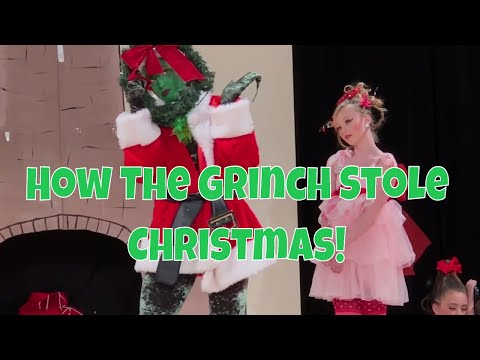 How The Grinch stole Christmas Jazz Style Production Play Vlog 16
