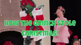 How The Grinch stole Christmas Ballet Style Production Play Vlog 16