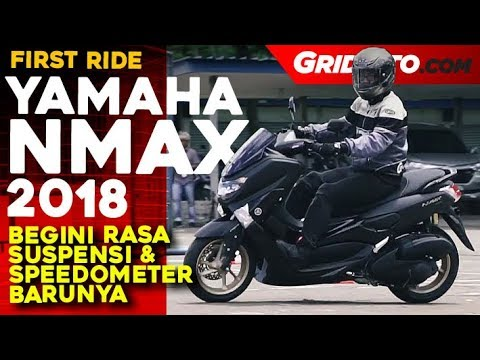 Yamaha NMAX 155 ABS 2018 First Ride Review GridOto