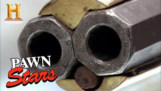 Pawn Stars: RARE ROTATING RIFLES Owner Angered by Appraisal (Season 8) | History