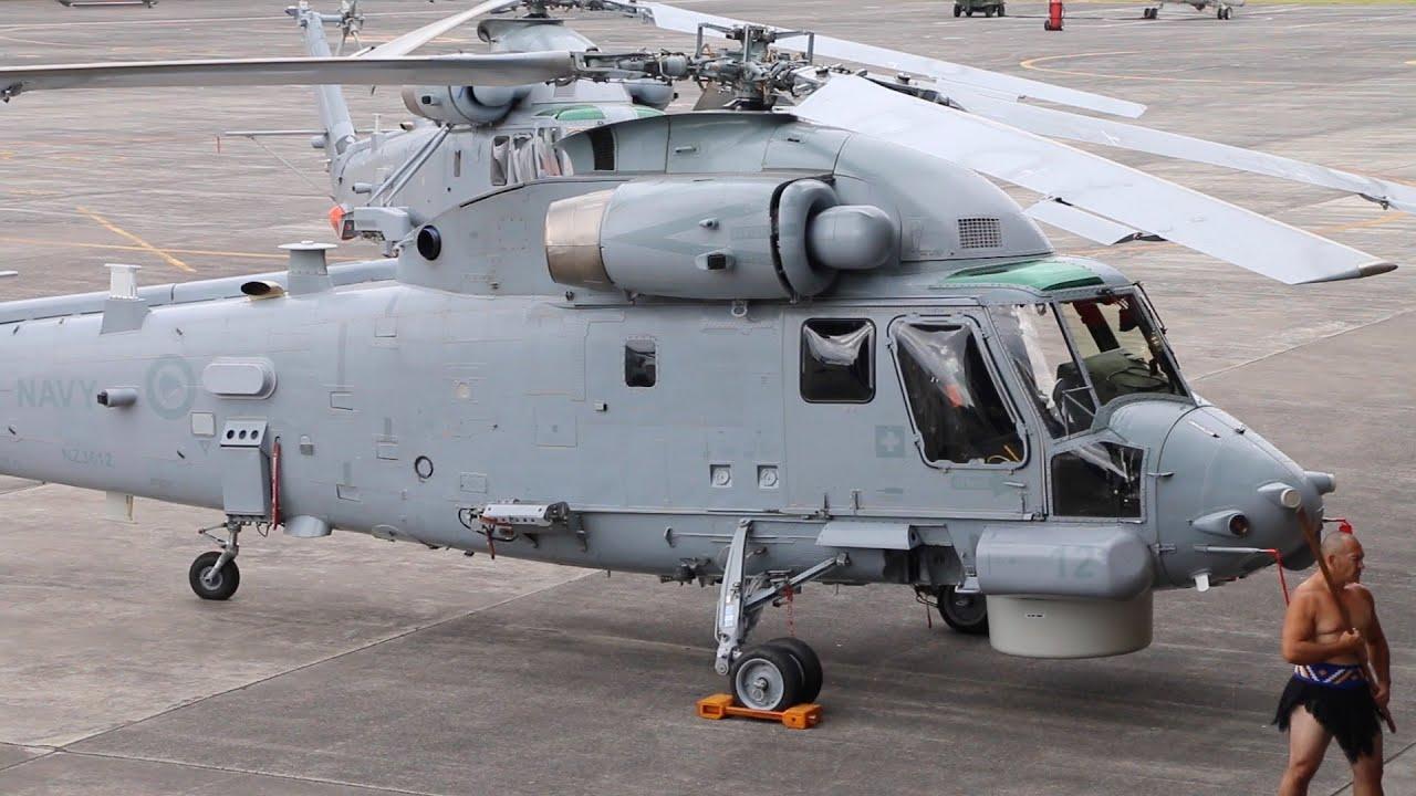 Kaman Sh 2g Seasprite Helicopter, Royal New Zealand Navy Stock ...