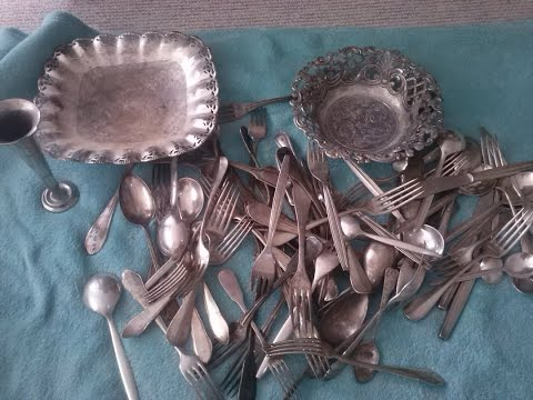 How much Silver is actually in Silver plated Flatw