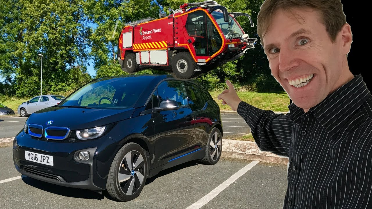 Bmw I3 Full Electric Test Drive A New Airport Fire Engine