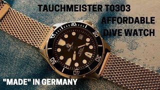 Tauchmeister T0303 Affordable Automatic Dive Watch With Crazy Lume