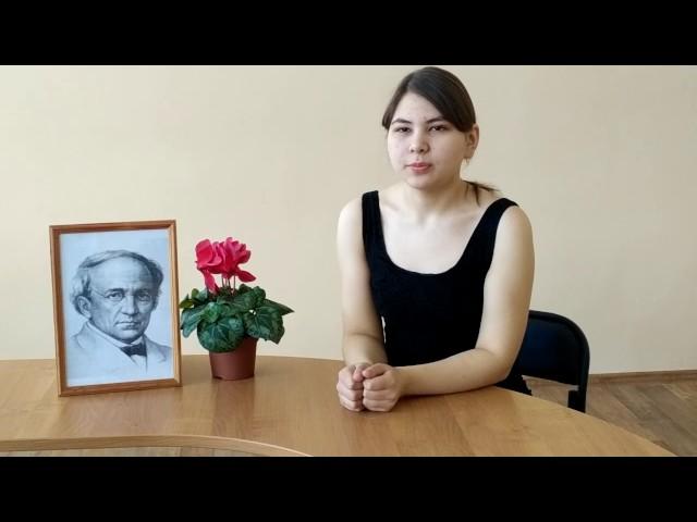Изображение предпросмотра прочтения – ЭмилияМокрушина читает произведение «Я помню время золотое…» Ф.И.Тютчева