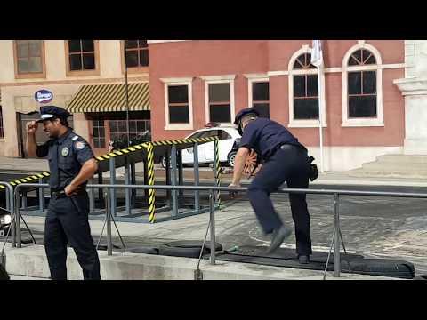 LOCA ACADEMIA DE POLICÍA - PARQUE WARNER DE MADRID - 12 DE JULIO DE 2018