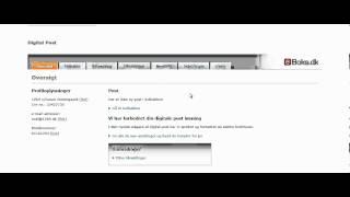 Digital postkasse - få automatisk besked på mail og sms ved ny post