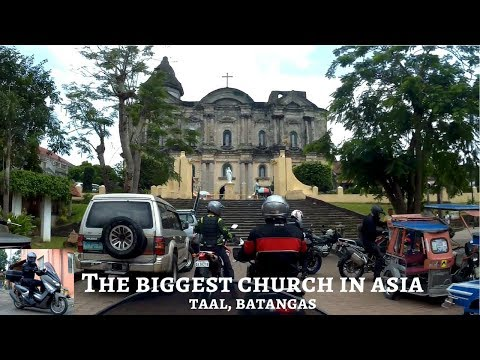 Taal Basilica Church, Batangas (biggest in Asia) │Breakfast at Tagaytay City (Tour 02) [ENG SUB]