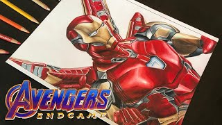 [Avengers Endgame] | Iron Man New Suit | Drawing | Marvel