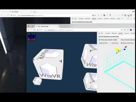 WebVR API Emulation DevTools Extension v1.1.0