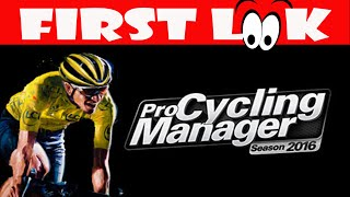First Look   Pro Cycling Manager 2016 Gameplay